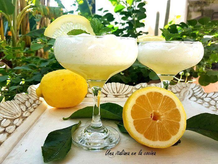 Mousse de limón y limoncello: Juego de blogueros 2.0