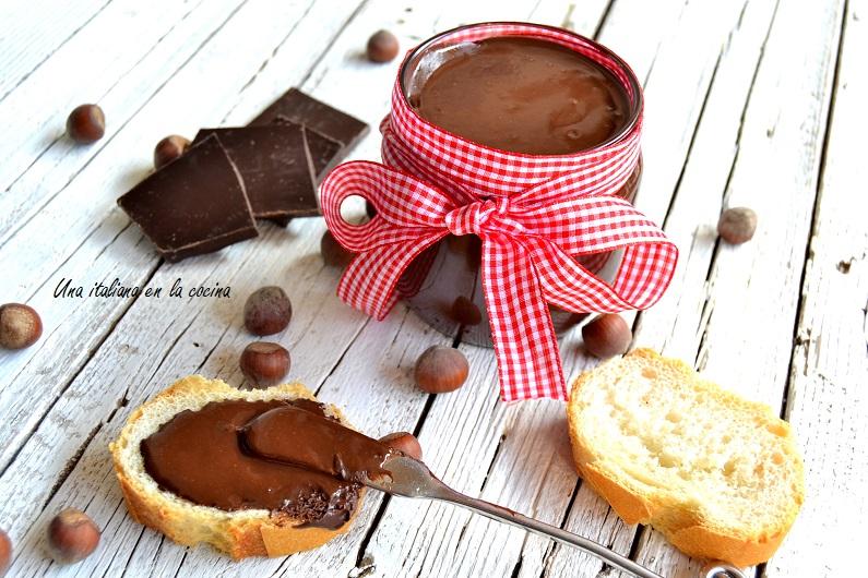 Nutella hecha en casa