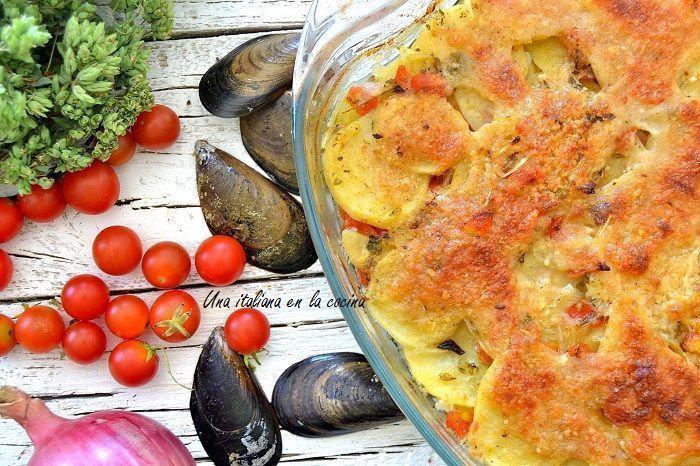 Arroz patatas y mejillones: Juego de blogueros 2.0