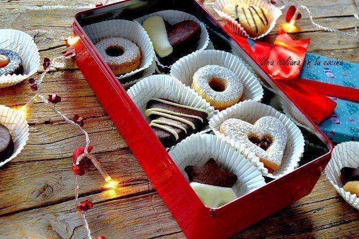 Surtido de galletas para regalar una masa mil formas - Cosas para regalar en navidad ...