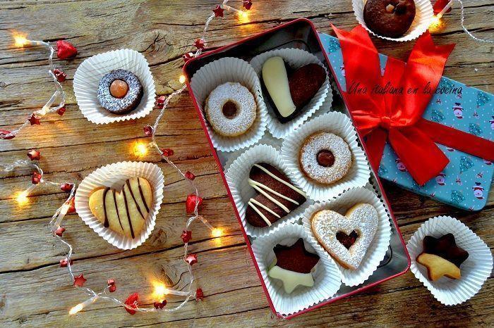 Surtido de galletas para regalar, una masa mil formas