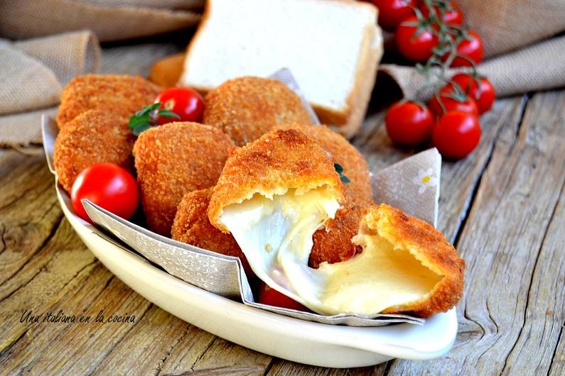Mozzarella frita o in carrozza