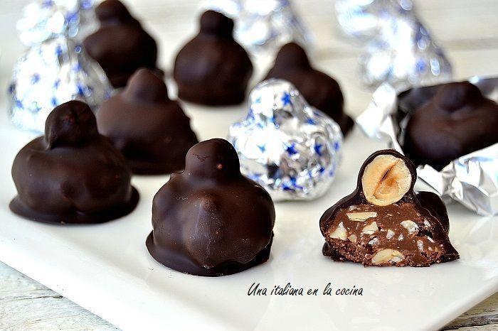 baci perugina, bombones de chocolate con avellana