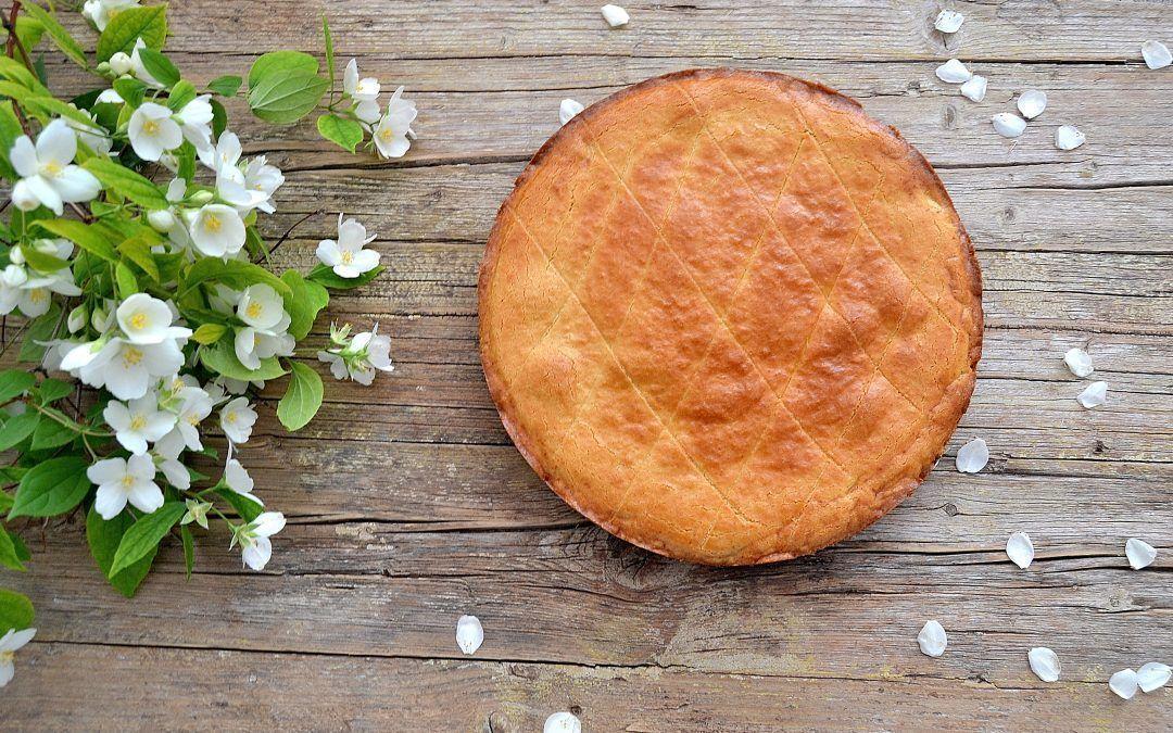 Tarta Pasticciotto con crema pastelera