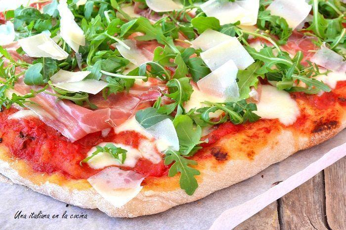 Masa de pizza italiana paso a paso