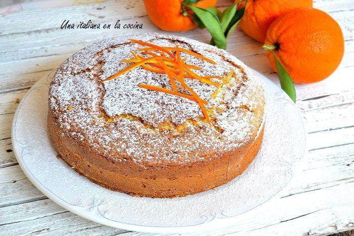 Pan de naranja, bizcocho esponjoso y aromático