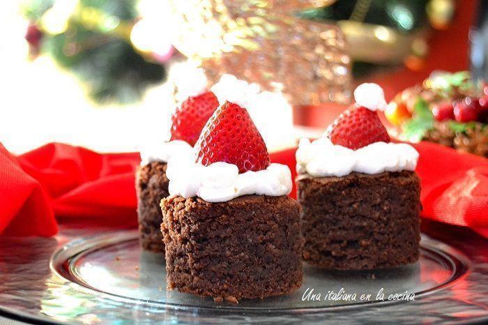 Tarta navideña, una presentación original