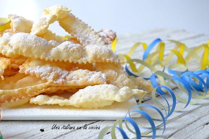 Chiacchiere, un dulce de carnaval