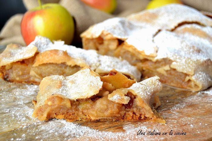 Strudel de manzanas: Juego de blogueros 2.0