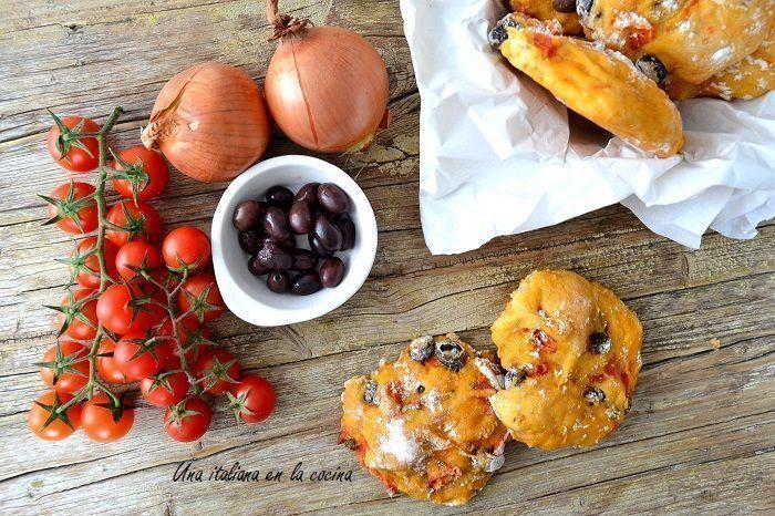 Pan mediterráneo o pizzi leccesi