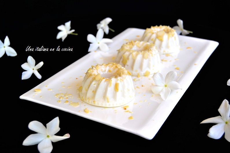 Biancomangiare, postre con leche de almendras