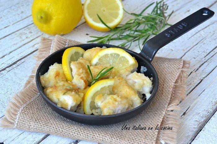 Pollo al limón con perfume de romero