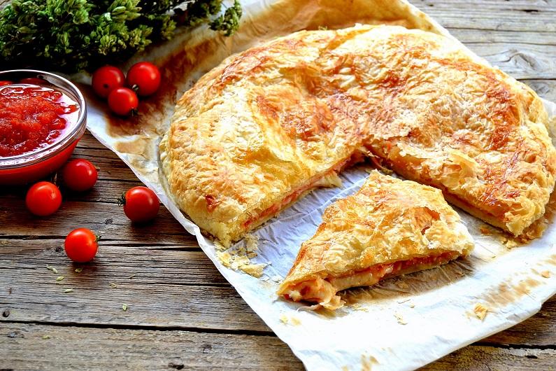 Pizza parigina, pizza tradicional de Napoli